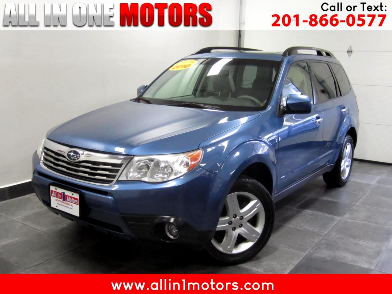 2010 Subaru Forester 4dr Auto 2.5X Limited