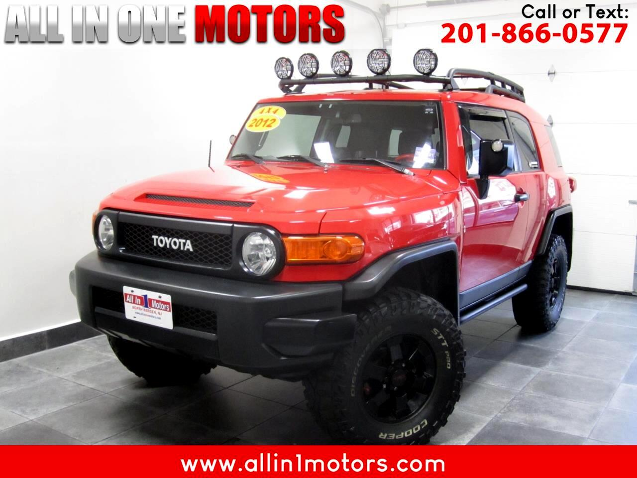 2012 Toyota FJ Cruiser 4WD TRAIL TEAMS EDITION