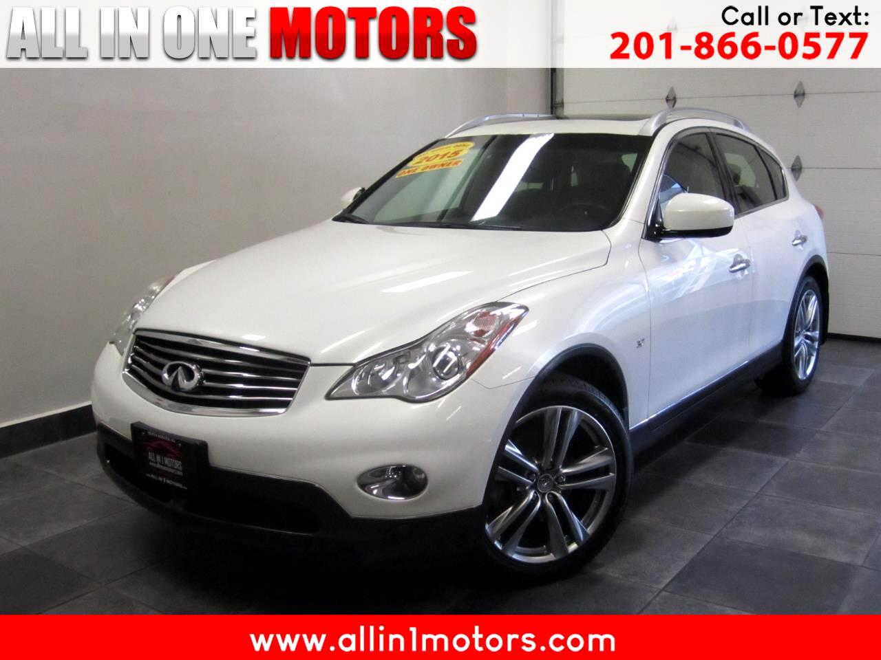 Infiniti QX50 AWD 4dr Journey 2015