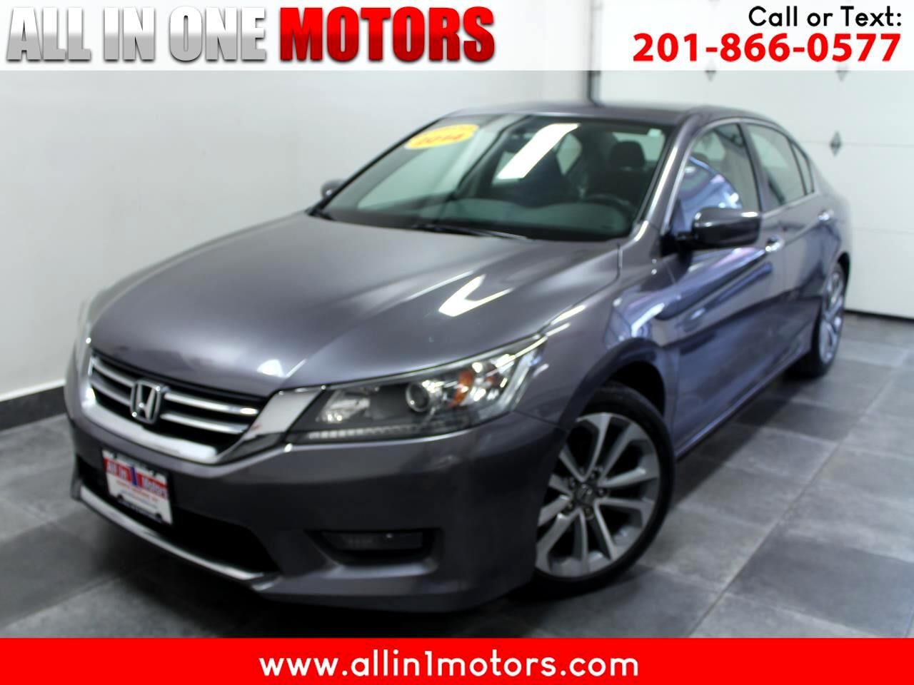 Honda Accord Sedan 4dr I4 Man Sport 2014