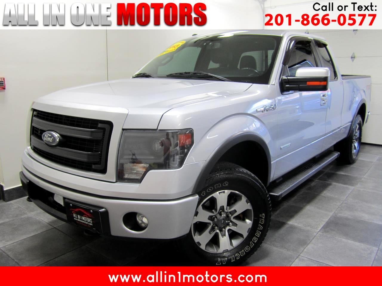"Ford F-150 4WD SuperCab 145"" FX4 2013"