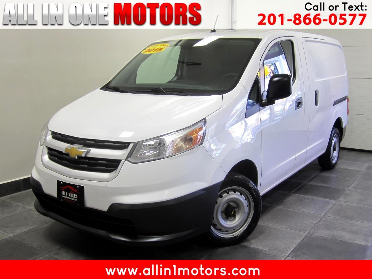 """Chevrolet City Express Cargo Van FWD 115"""" LS 2015"""