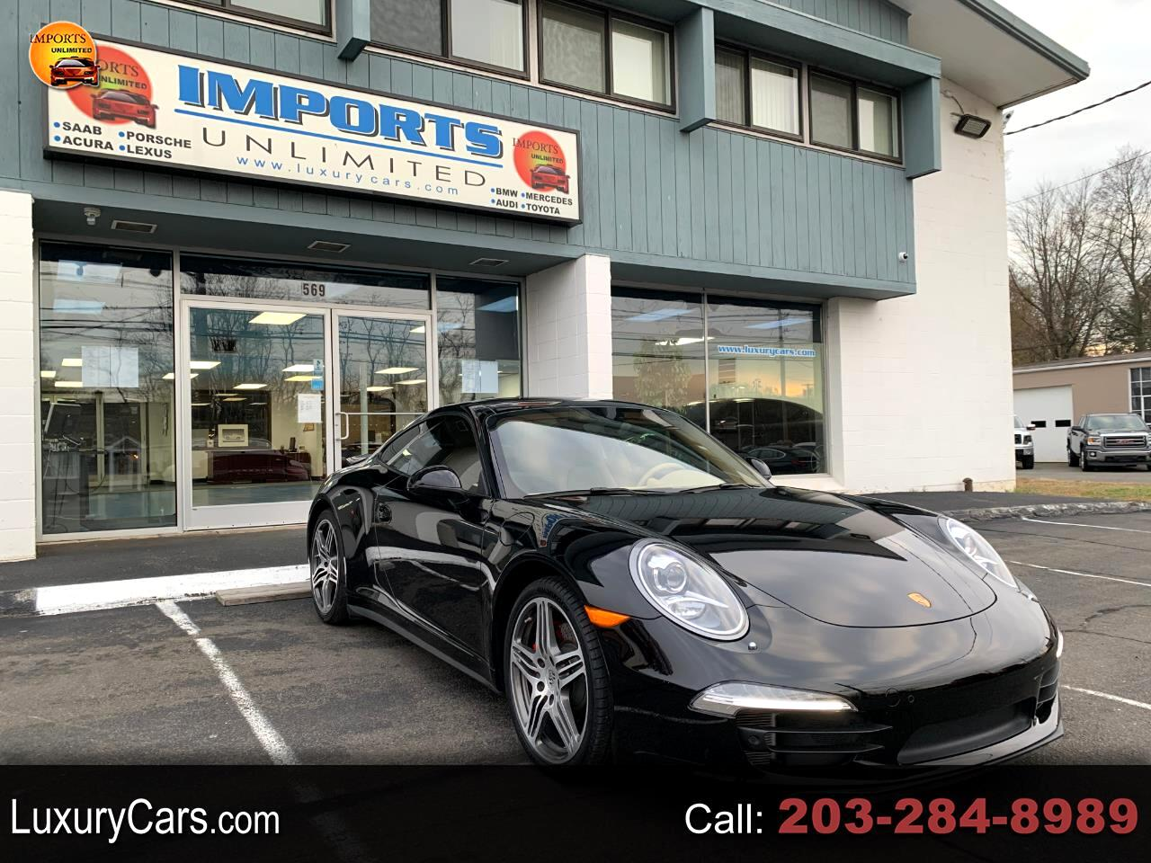 Porsche Of Wallingford >> Used 2015 Porsche 911 2dr Cpe Carrera 4s For Sale In