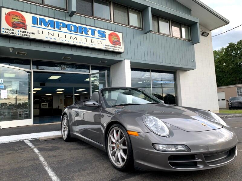 2008 Porsche 911 2dr Cabriolet Carrera 6-Spd Manual