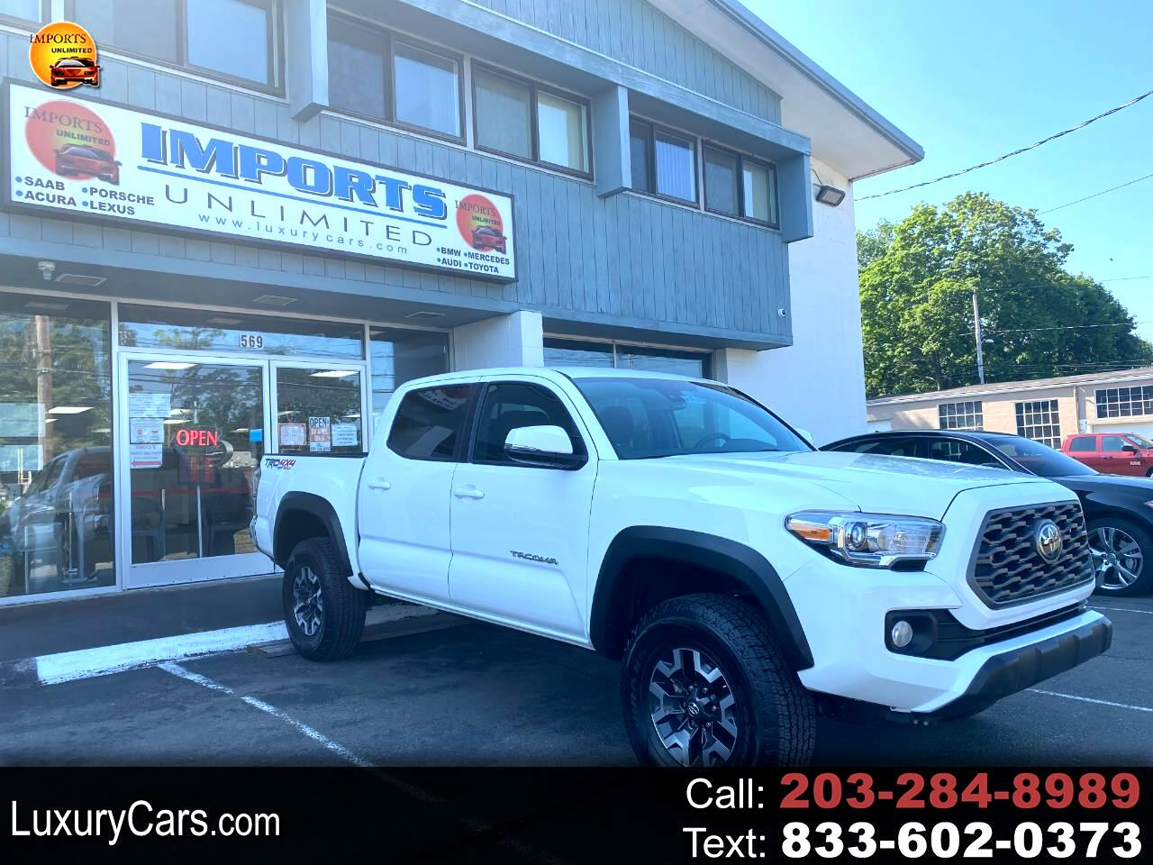 Toyota Tacoma 4WD TRD Off Road Double Cab 5' Bed V6 MT (Natl) 2020