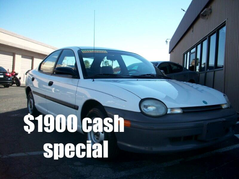 1995 Plymouth Neon Sedan