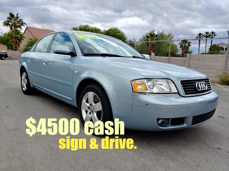 2004 Audi A6 3.0 with Multitronic