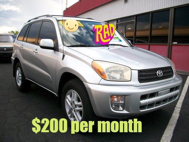 2002 Toyota RAV4 2WD