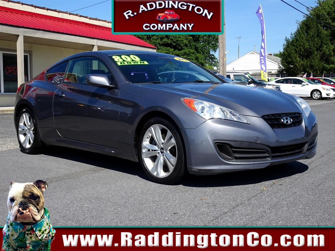 2012 Hyundai Genesis Coupe 2.0T Manual