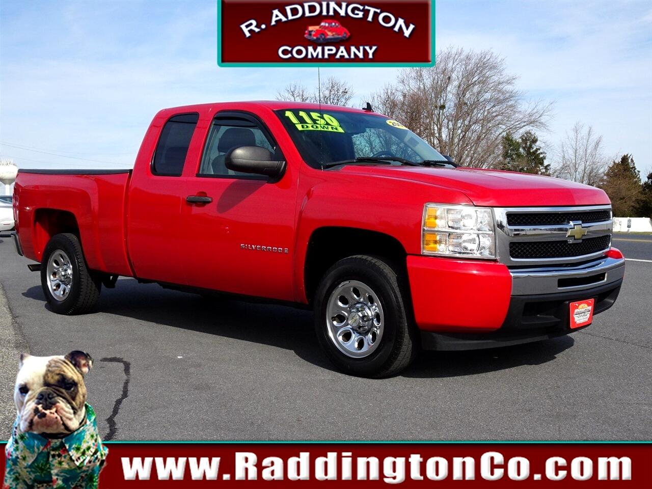 Chevrolet Silverado 1500 Work Truck Ext. Cab Long Box 2WD 2009