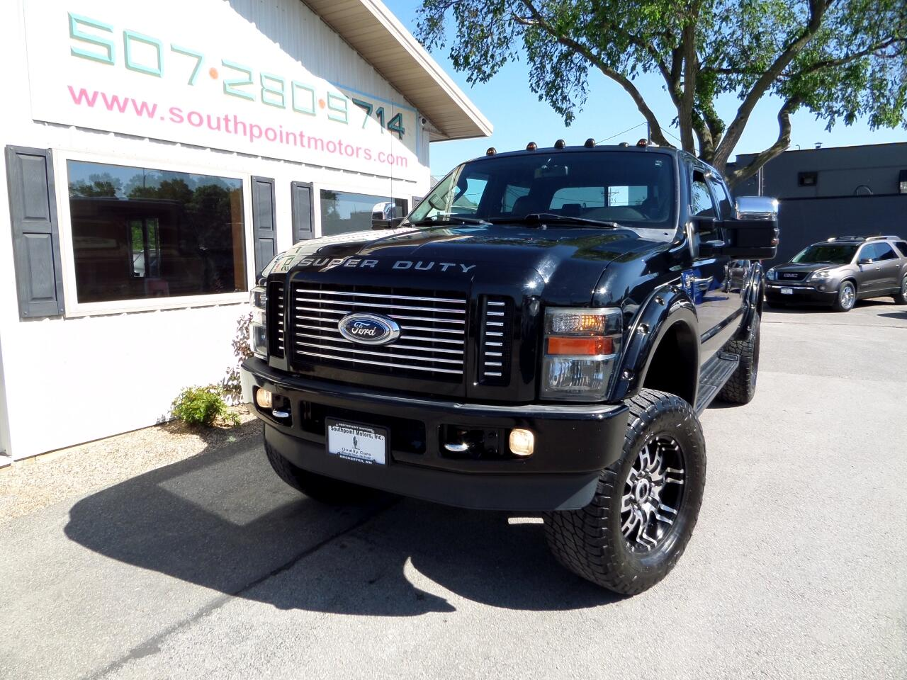 2009 Ford F-250 SD Crew Cab Short Bed Harley Davidson
