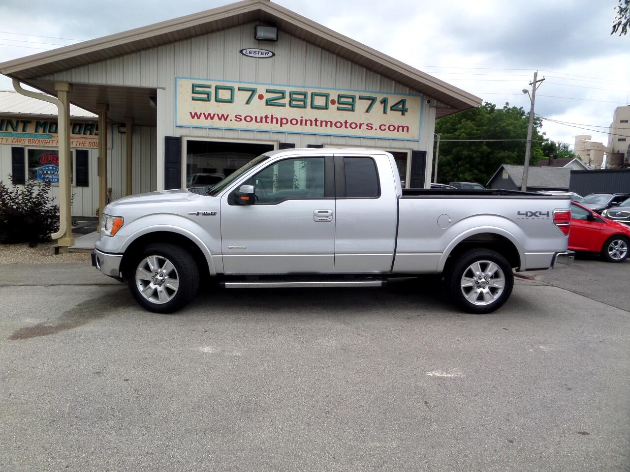 2013 Ford F-150 Lariat 4WD SuperCab 6.5' Box