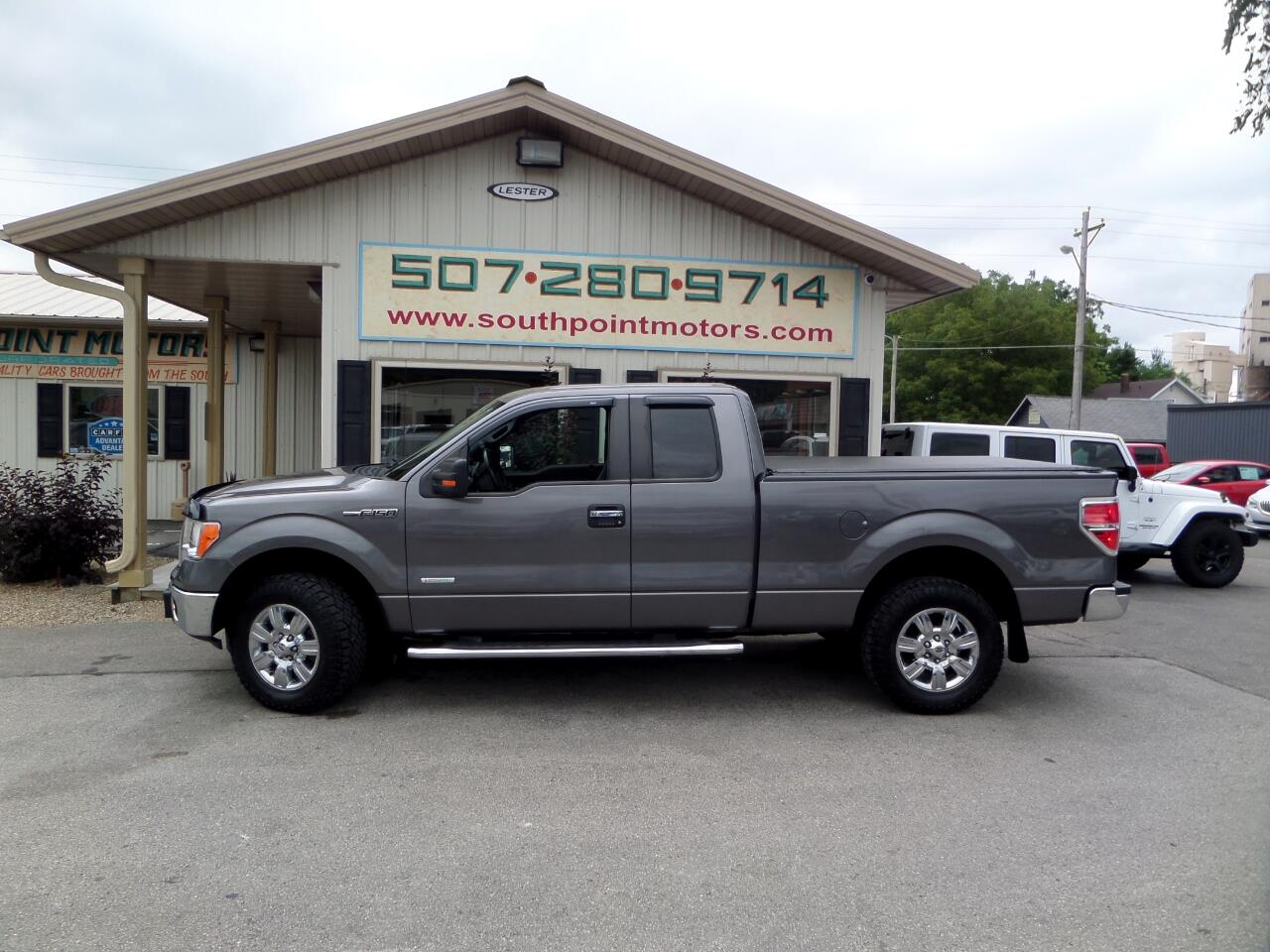 2012 Ford F-150 SuperCab 4WD