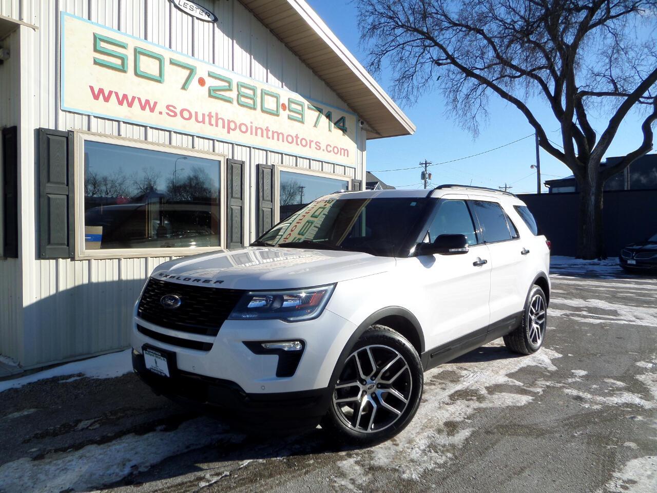 Ford Explorer Sport 4WD 2018