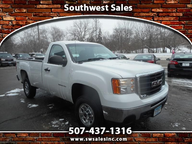 2010 GMC Sierra 2500HD Work Truck 4WD