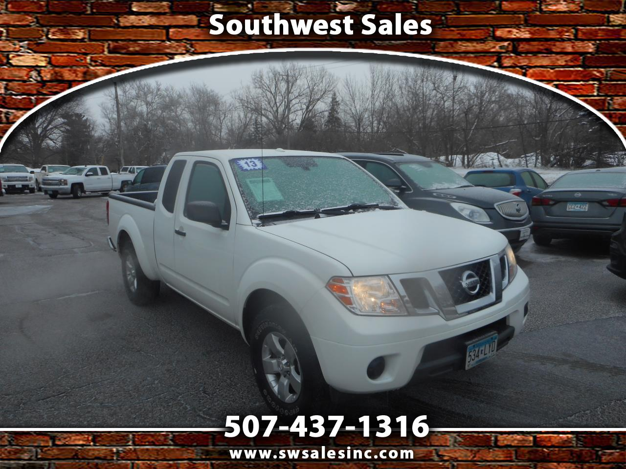 Nissan Frontier 4WD King Cab Auto SV 2013