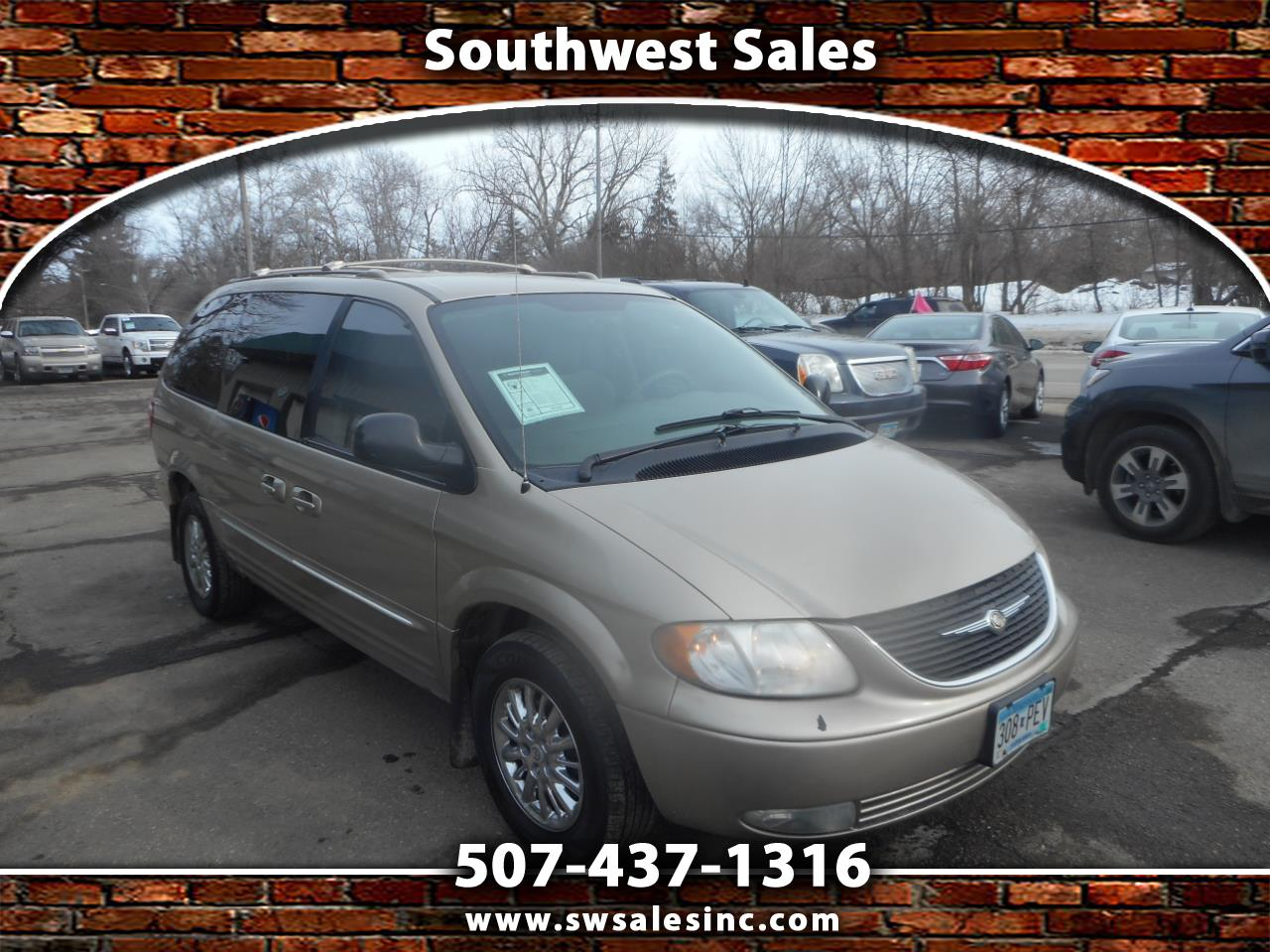 Chrysler Town & Country 4dr Limited FWD 2003