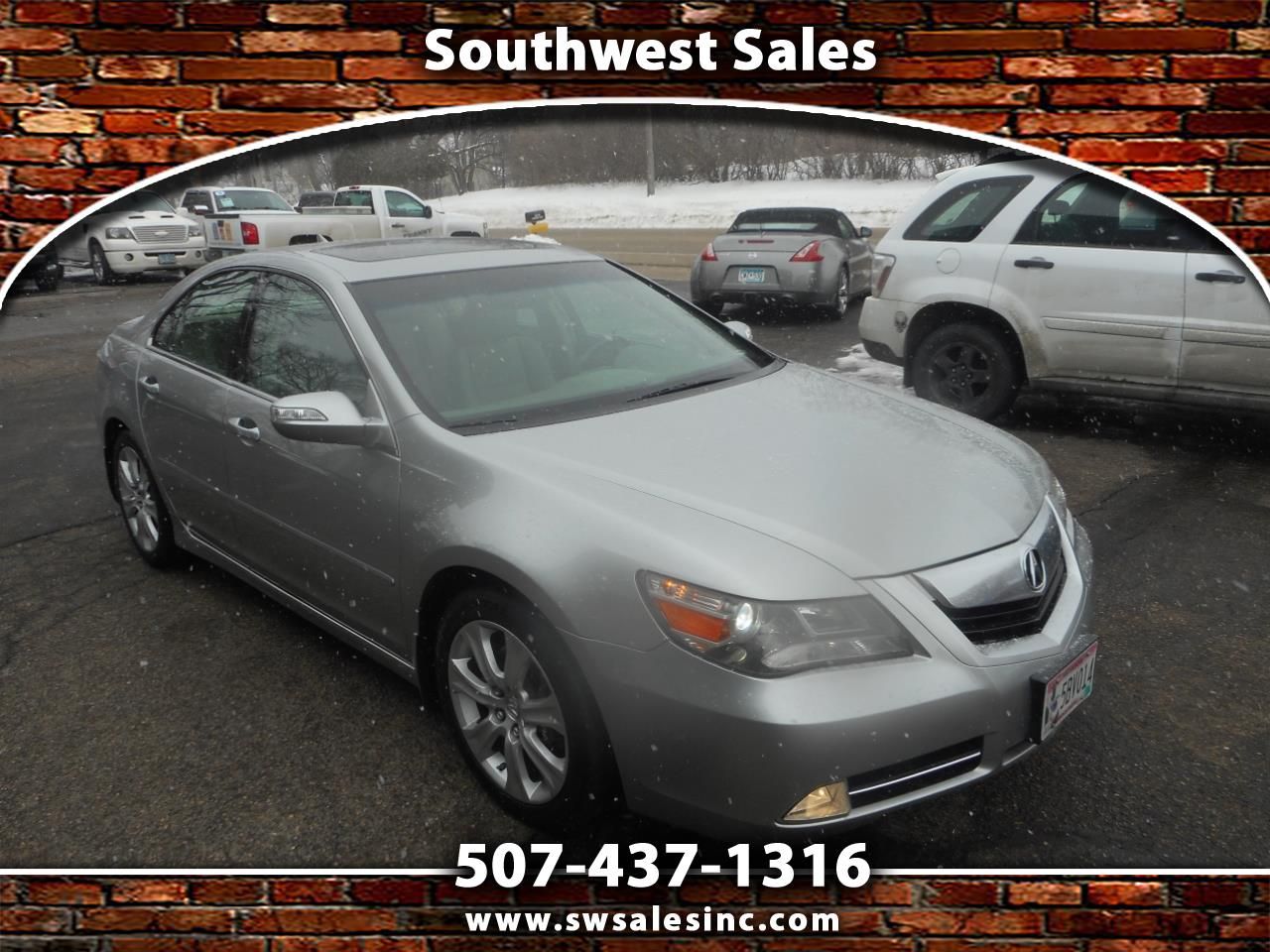 Acura RL 4dr Sdn Tech/CMBS w/PAX (Natl) 2009
