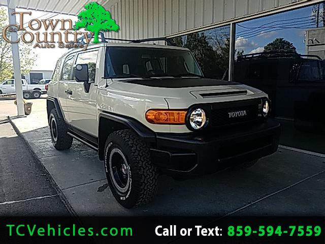 2010 Toyota FJ Cruiser 4WD Trail Team