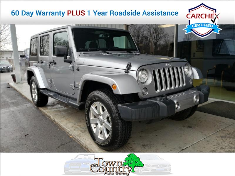 2018 Jeep Wrangler Sahara Unlimited