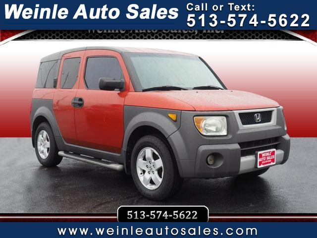 Honda Element 4WD EX Auto w/Side Airbags 2003