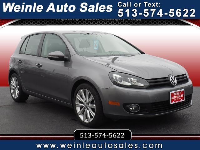 Volkswagen Golf 4dr HB Man TDI w/Tech Pkg 2012