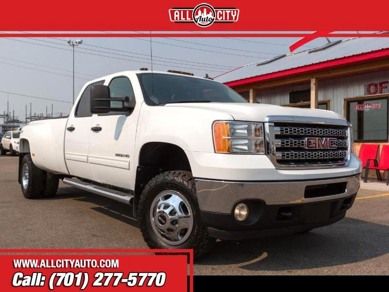 2013 GMC Sierra 3500HD SLT Crew Cab Long Box 4WD