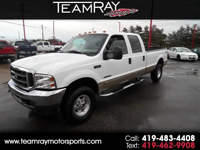 2001 Ford F-250 SD Lariat Crew Cab Long Bed 4WD