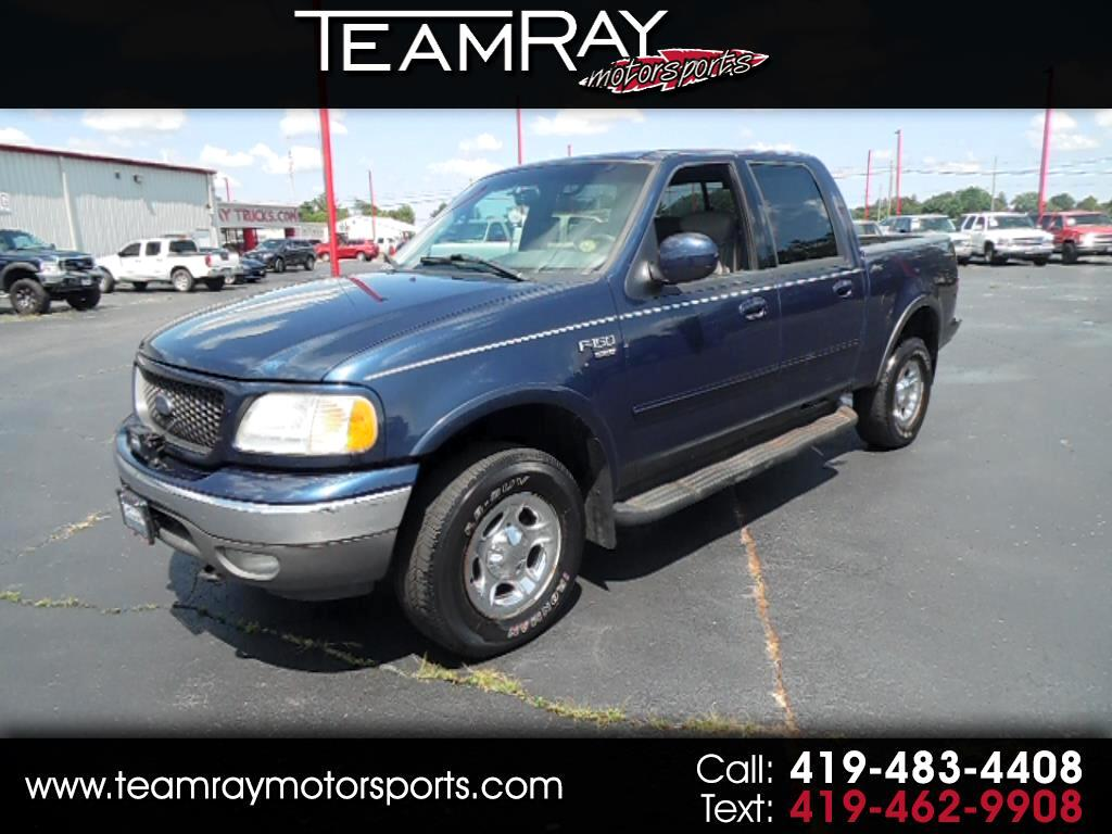 "2002 Ford F-150 SuperCrew 139"" Lariat 4WD"