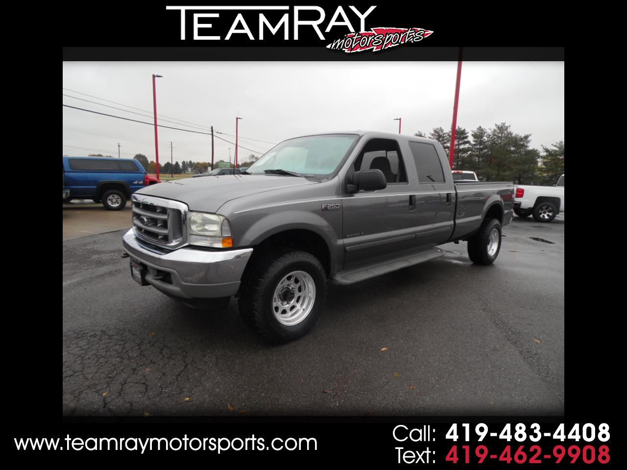 "2002 Ford Super Duty F-250 Crew Cab 172"" XLT 4WD"