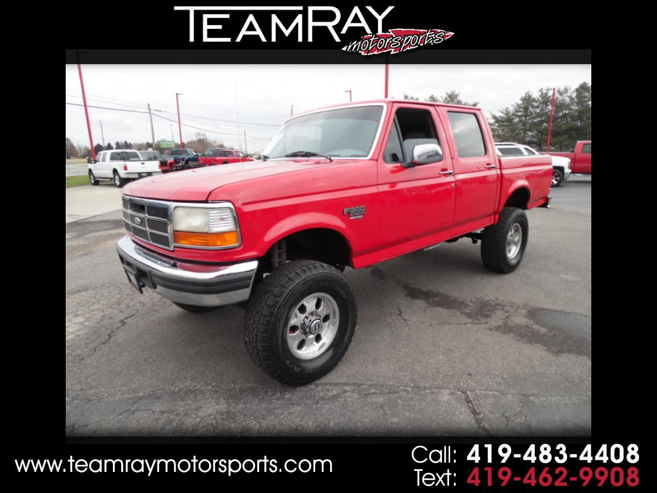 1996 Ford F-350 Crew Cab 4dr 168.4