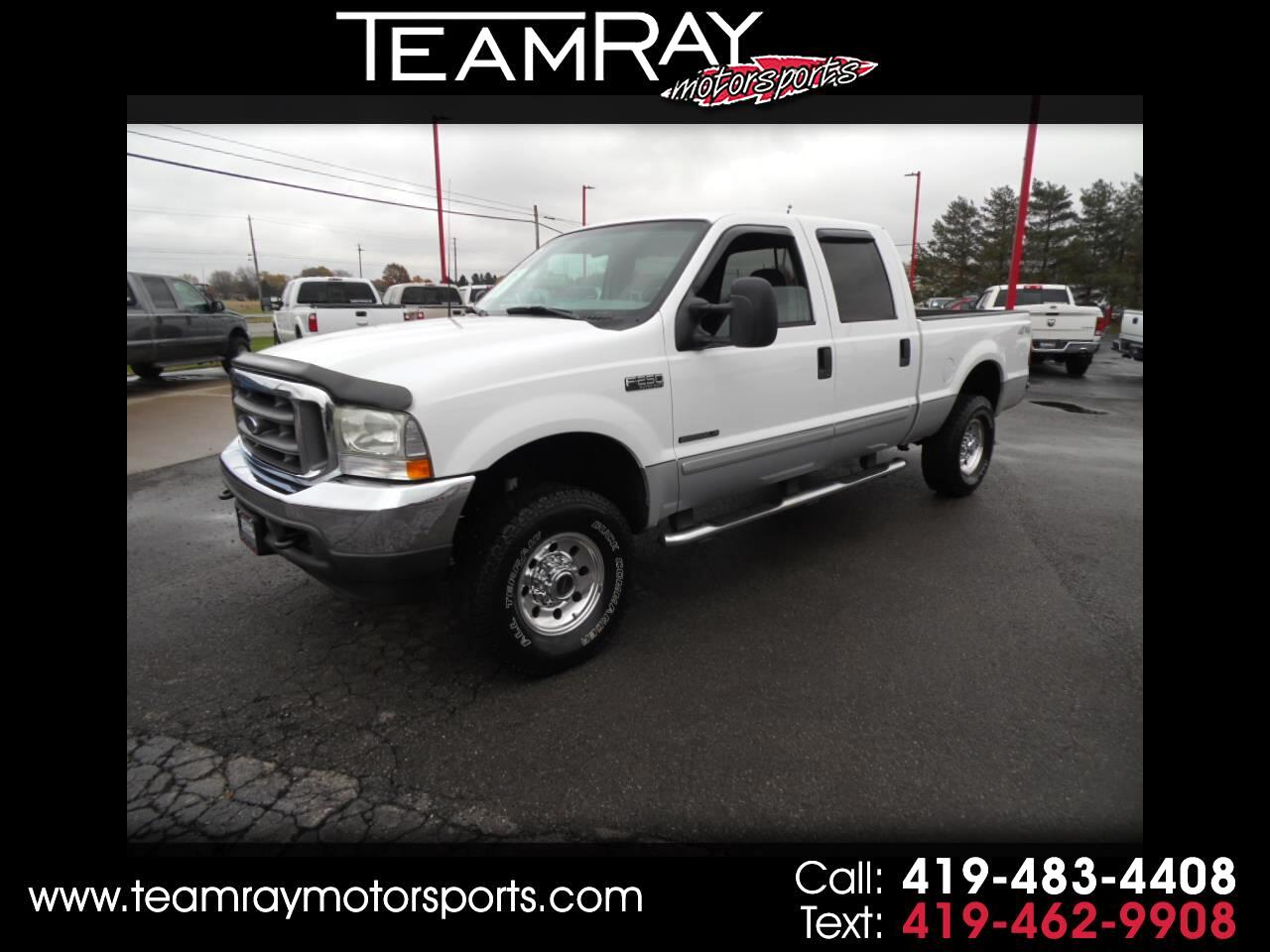 "2003 Ford Super Duty F-250 Crew Cab 156"" XLT 4WD"