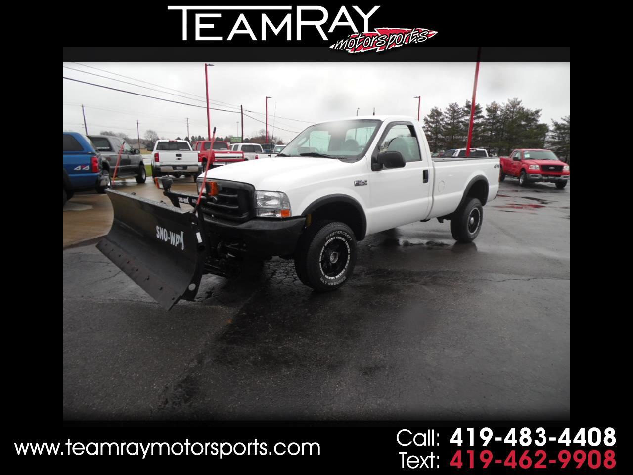"2003 Ford Super Duty F-350 SRW Reg Cab 137"" XL 4WD"