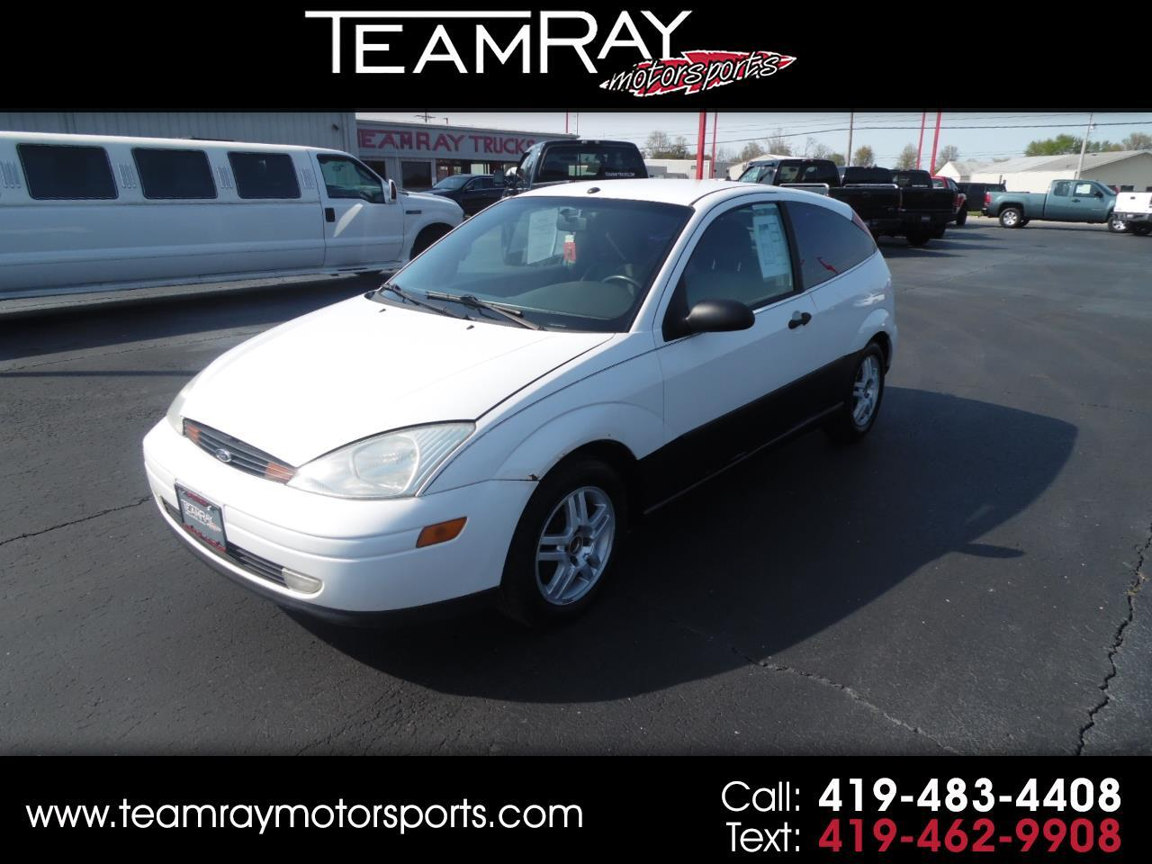 2000 Ford Focus 3dr Cpe ZX3
