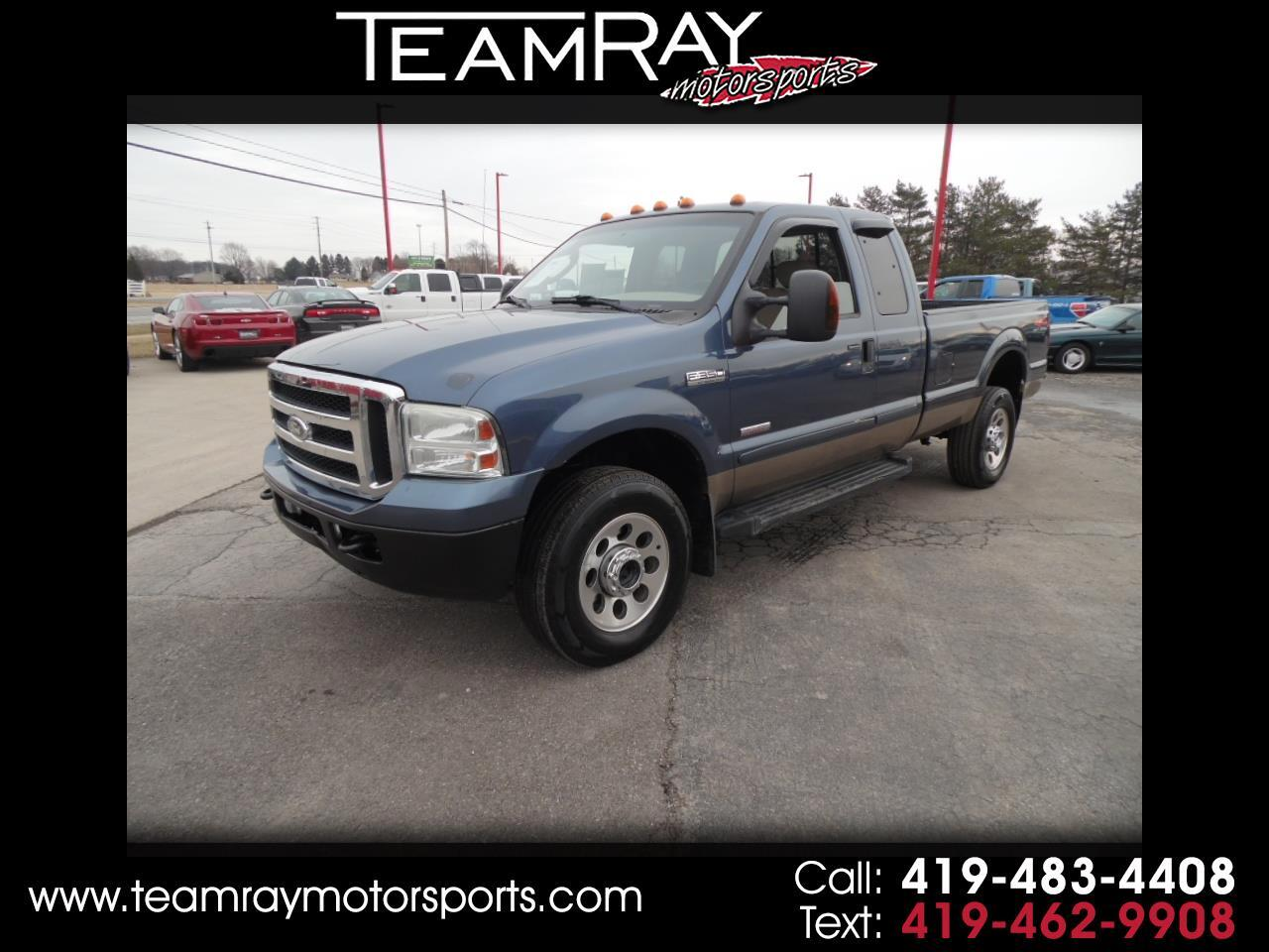 "2006 Ford Super Duty F-350 SRW Supercab 158"" XLT 4WD"