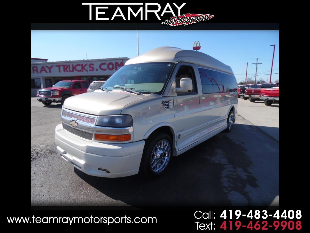 """2011 Chevrolet Express Cargo Van RWD 2500 155"""" YF7 Upfitter"""