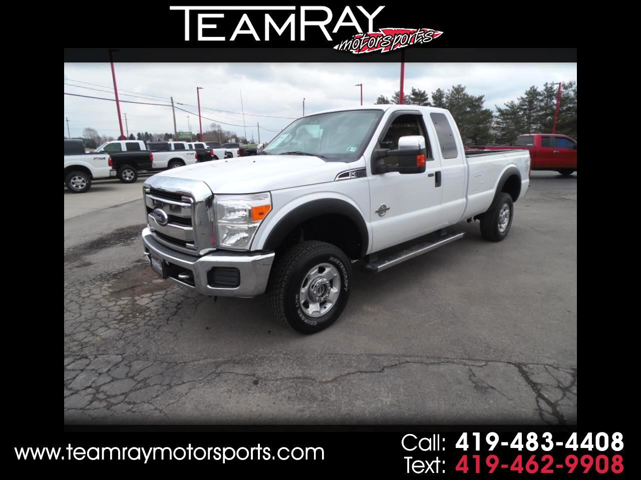 "2011 Ford Super Duty F-250 SRW 4WD SuperCab 158"" XLT"