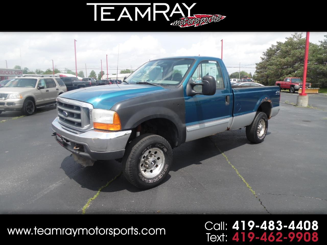 "2001 Ford Super Duty F-250 Reg Cab 137"" XLT 4WD"