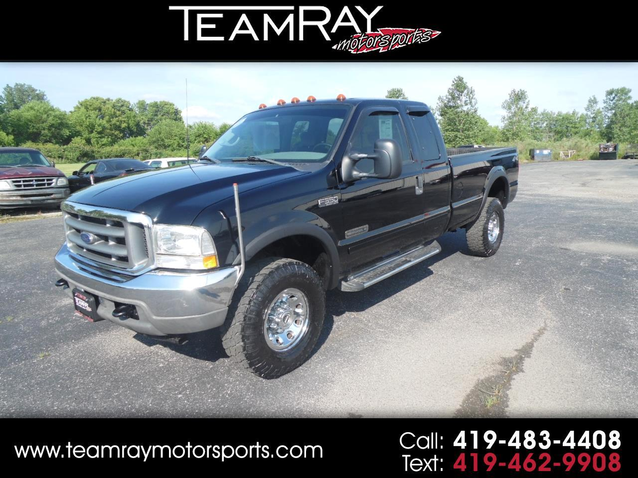 "2002 Ford Super Duty F-350 SRW Supercab 158"" XLT 4WD"