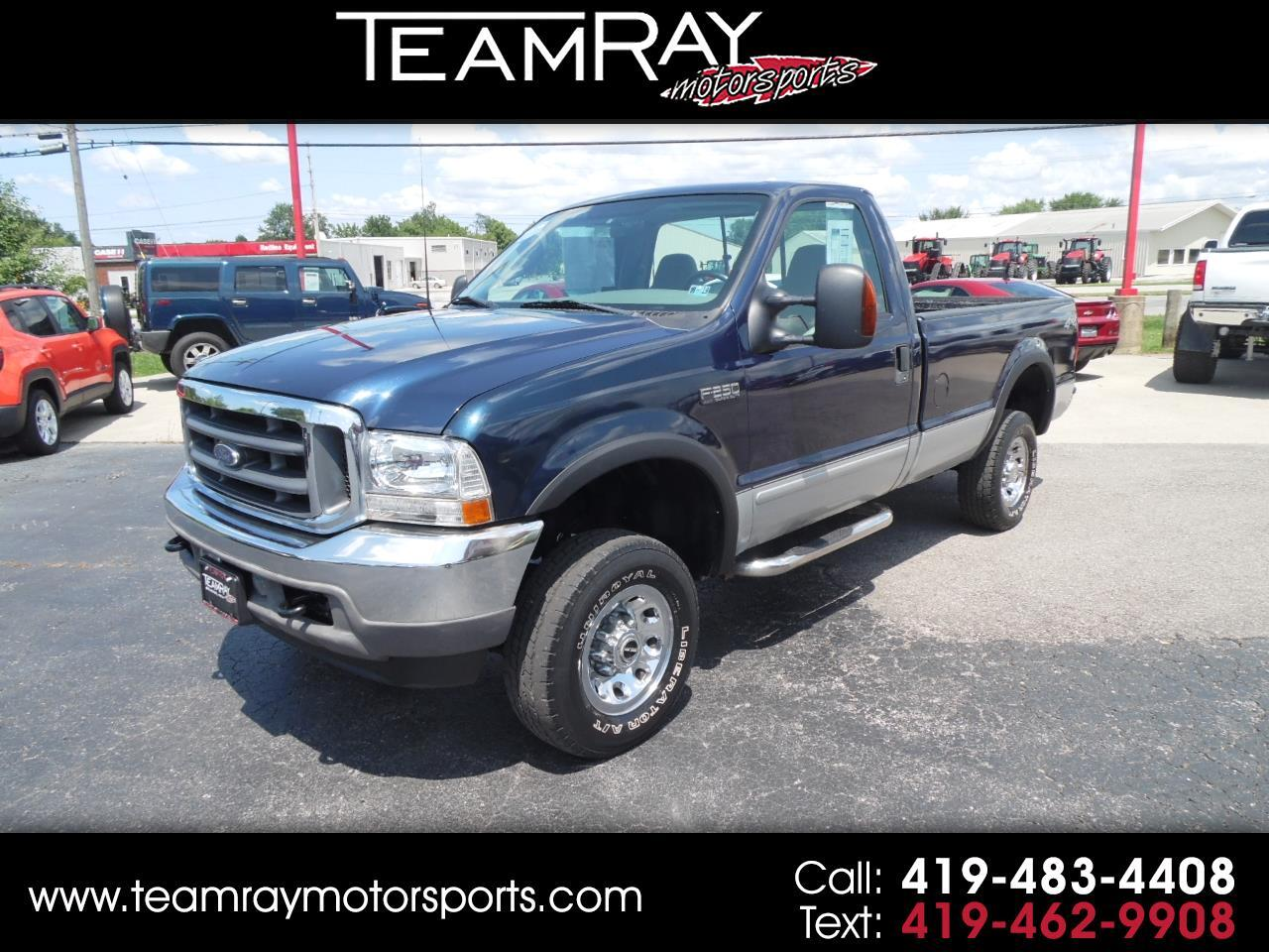 "2003 Ford Super Duty F-250 Reg Cab 137"" XLT 4WD"