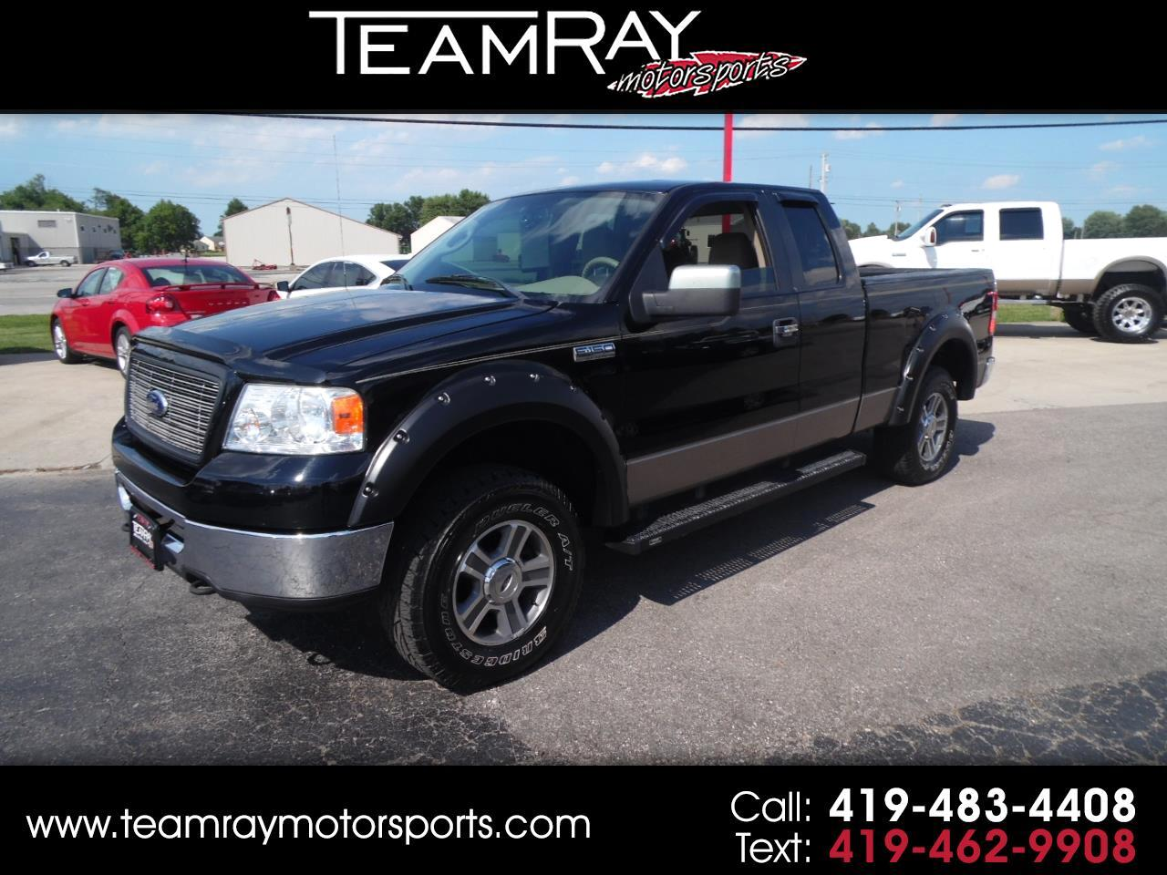 "2006 Ford F-150 Supercab 145"" XLT 4WD"