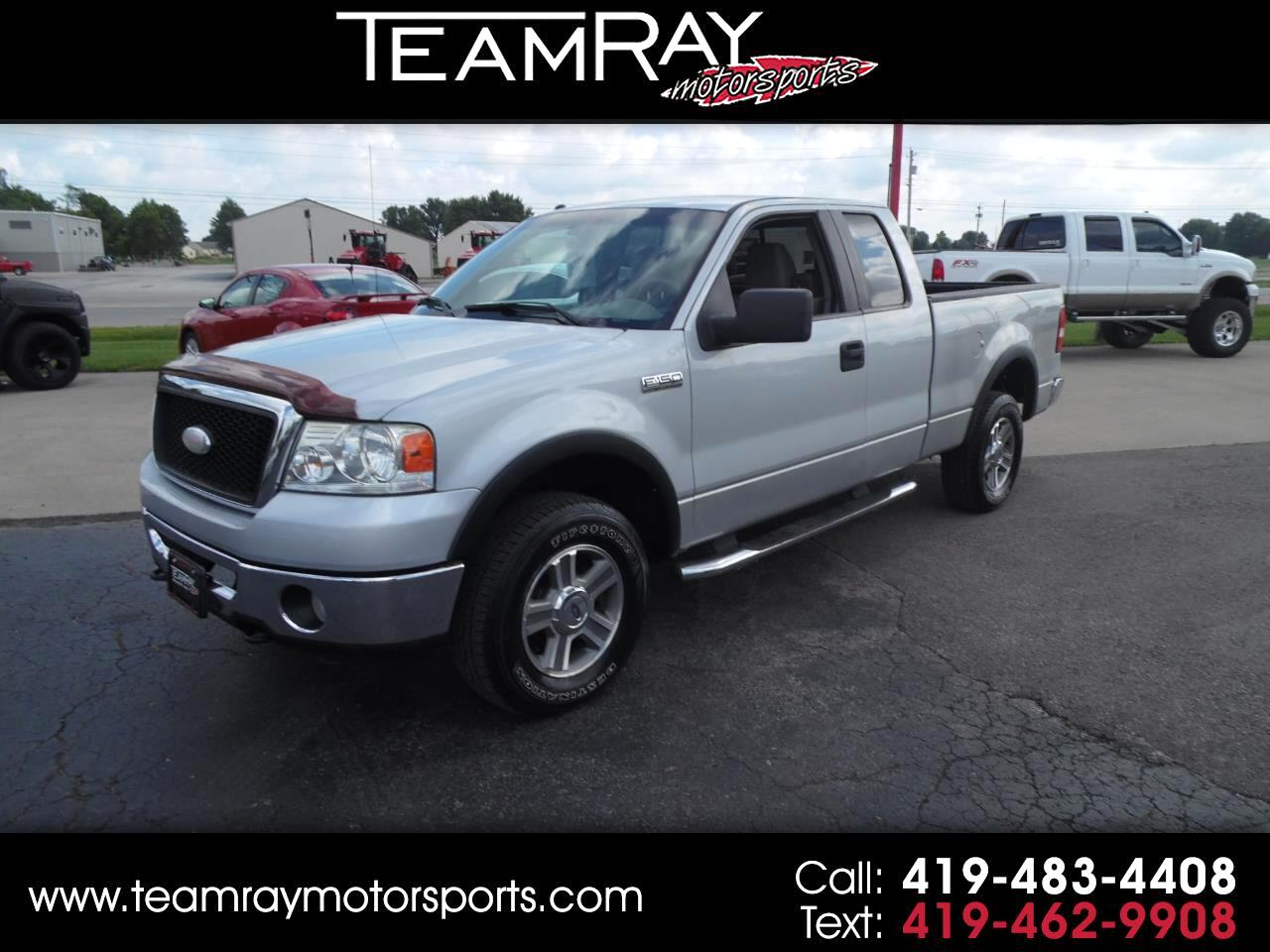 2007 Ford F-150 4WD Supercab 133