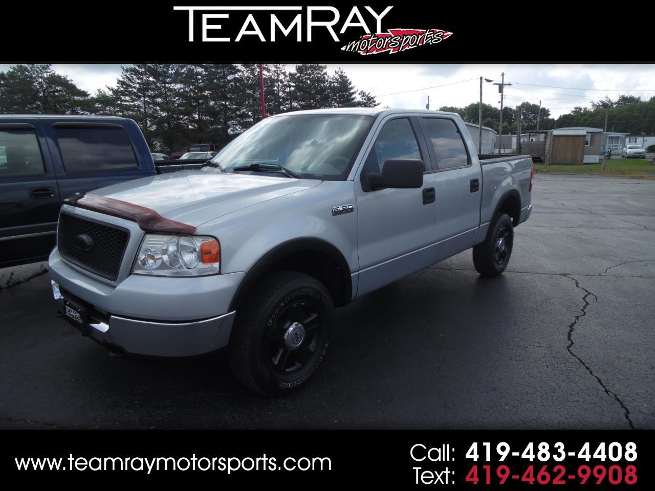"2005 Ford F-150 SuperCrew 139"" FX4 4WD"