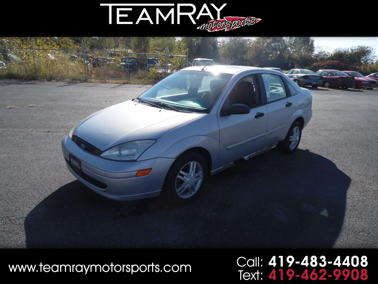 2002 Ford Focus 4dr Sdn SE Base