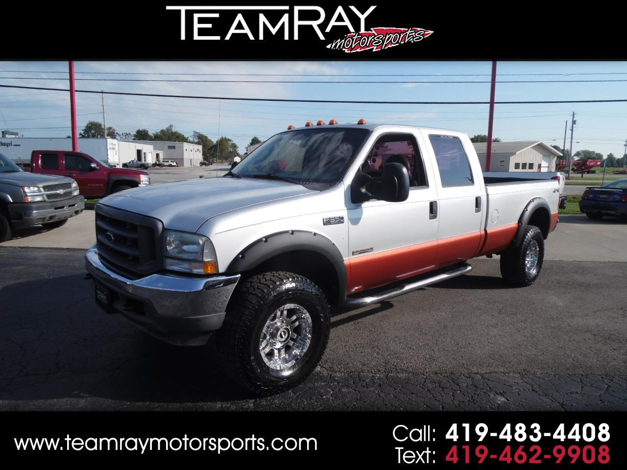 "2004 Ford Super Duty F-350 SRW Crew Cab 172"" XL 4WD"