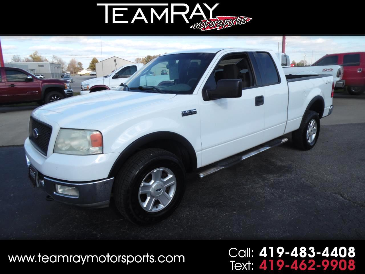 "2004 Ford F-150 Supercab 145"" XLT 4WD"