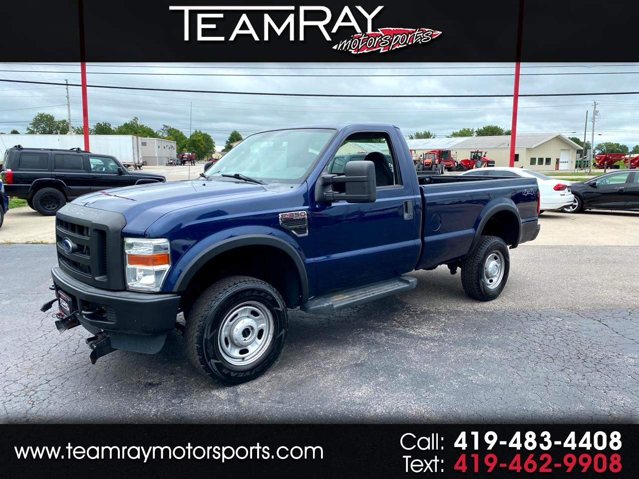"Ford Super Duty F-350 SRW 4WD Reg Cab 137"" XL 2010"