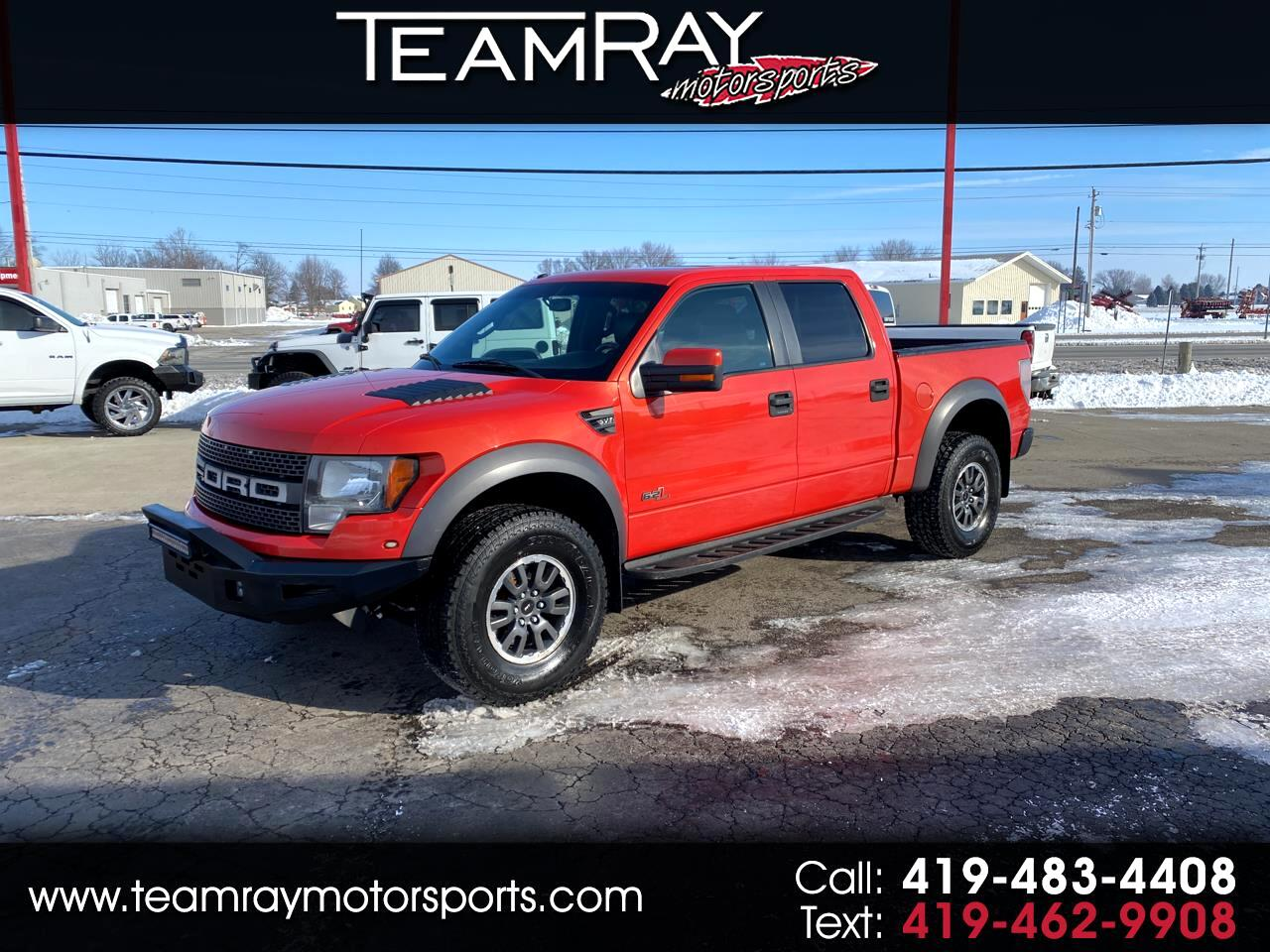 "Ford F-150 4WD SuperCrew 145"" SVT Raptor 2011"