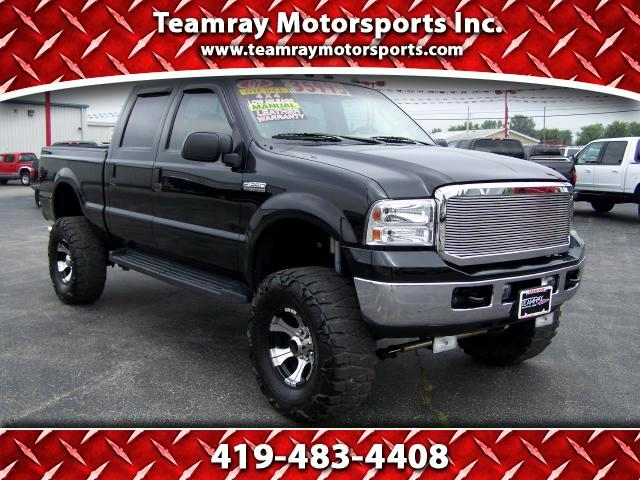 2007 Ford F-350 SD Lariat Crew Cab Short Bed 4WD