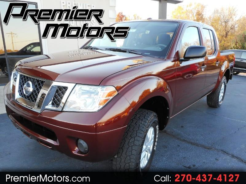 2016 Nissan Frontier SV CREW CAB 4WD AUTOMATIC